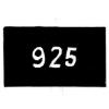Hopean pitoisuus 925