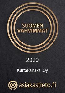 Suomen vahvimmat KultaRahaksi 2020